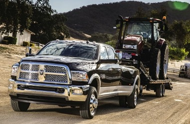 Ram trucks diesel engine