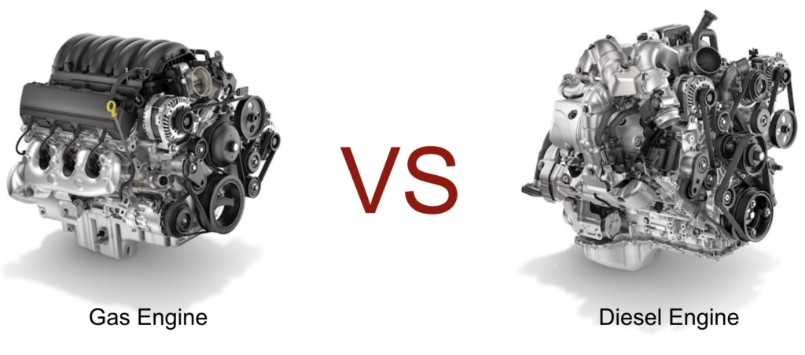 gas vs diesel engine